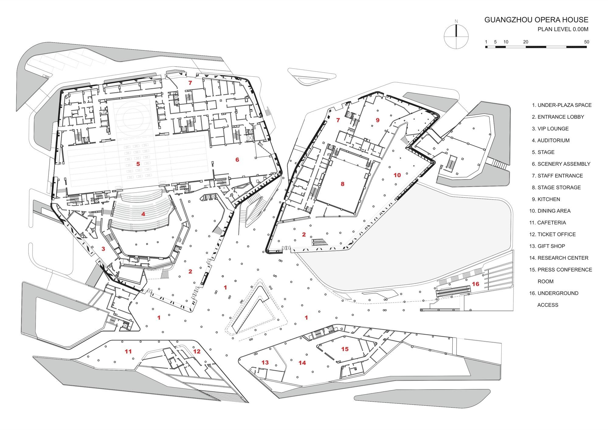 Gallery Of Guangzhou Opera House Zaha Hadid Architects 16