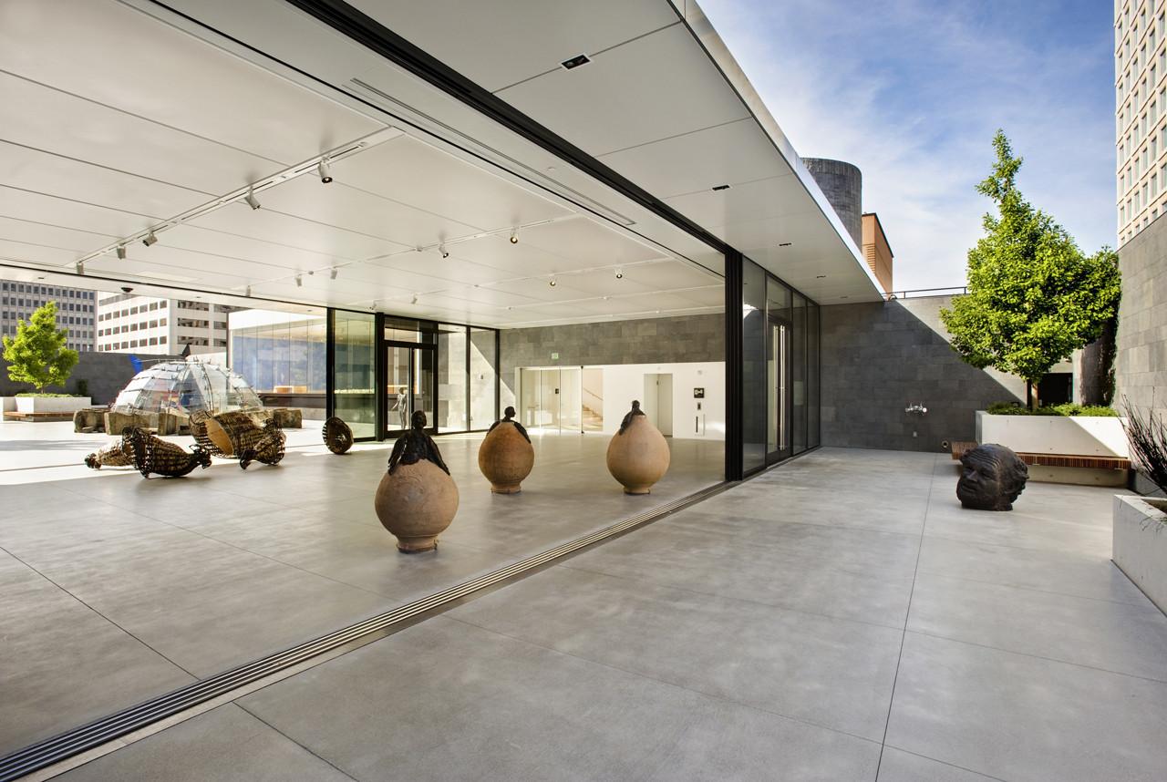 San francisco museum of modern art rooftop garden jensen for Museum craft design san francisco
