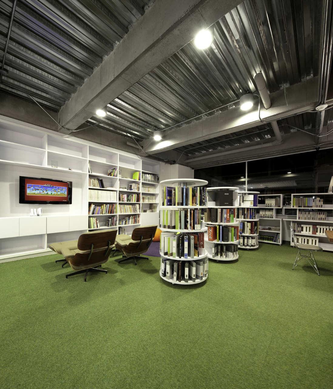 Gallery of aei headquarters arquitectura e interiores 10 - Arquitectura interior ...