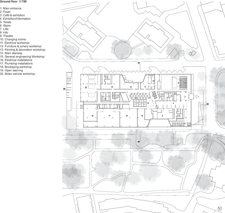Gallery of New Flagship Campus for City of Westminster