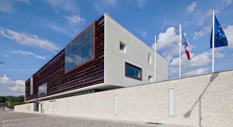 Police Station In Provins / Ameller, Dubois & Associés, © Luc Boegly
