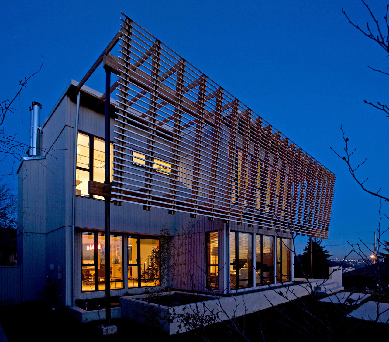 Screen House Randy Bens Architect Archdaily