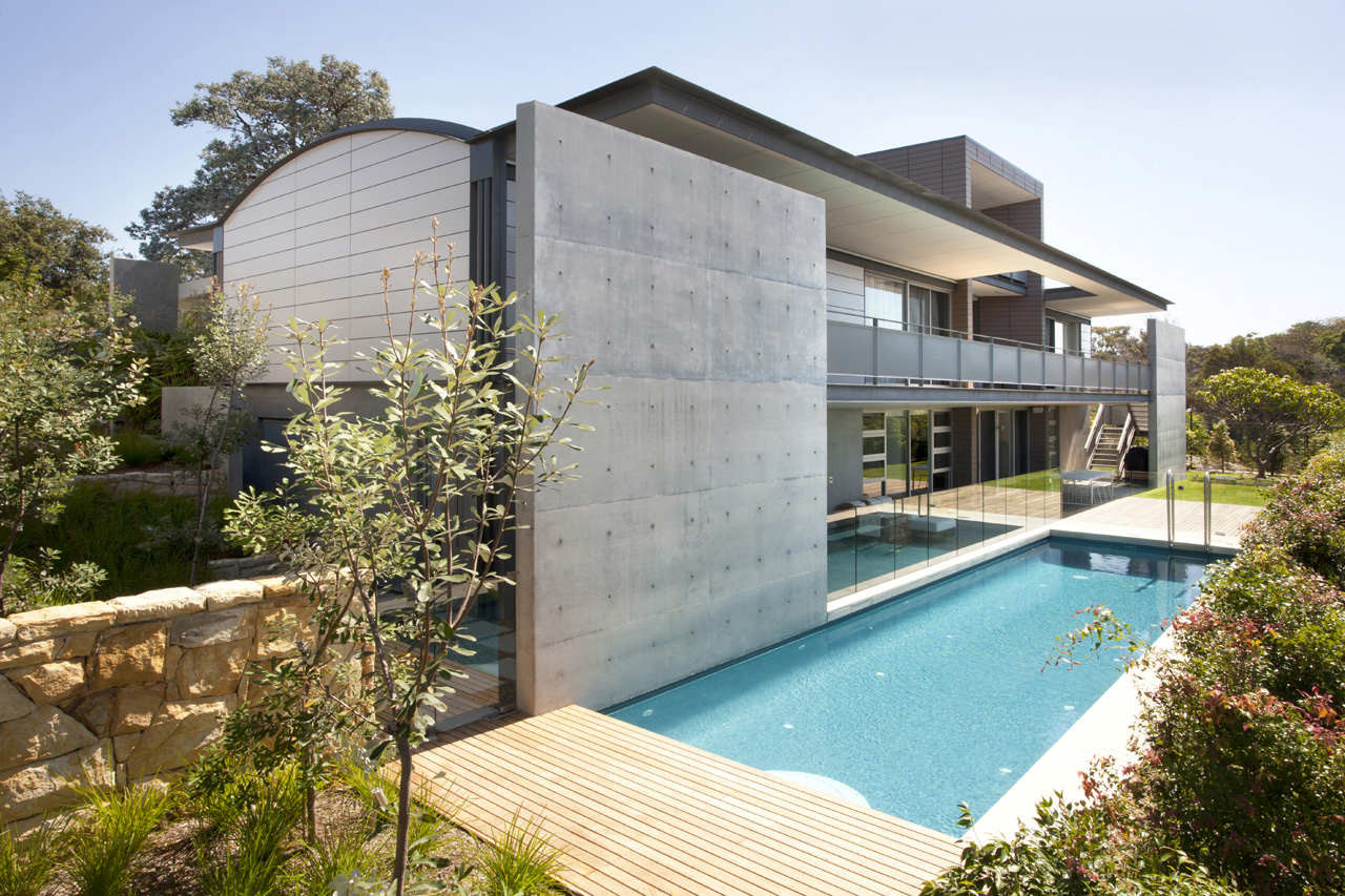 Mosman house popov bass architects archdaily for Moderne wandfliesen