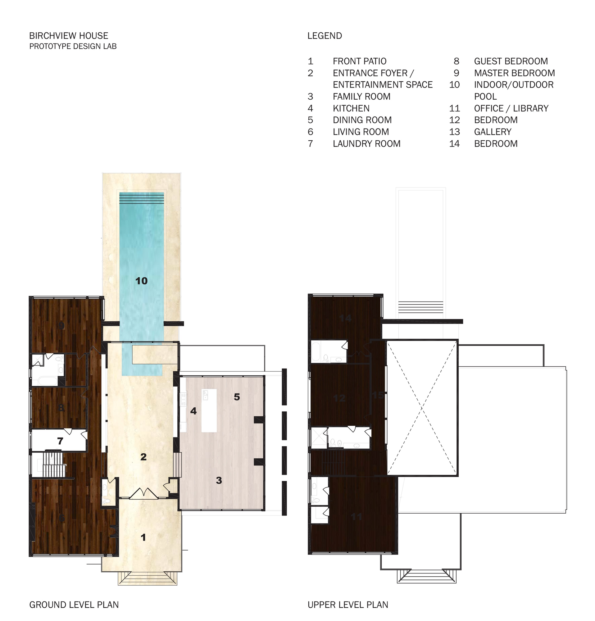 Gallery of the birchview house prototype design lab 10 for Prototype house plan