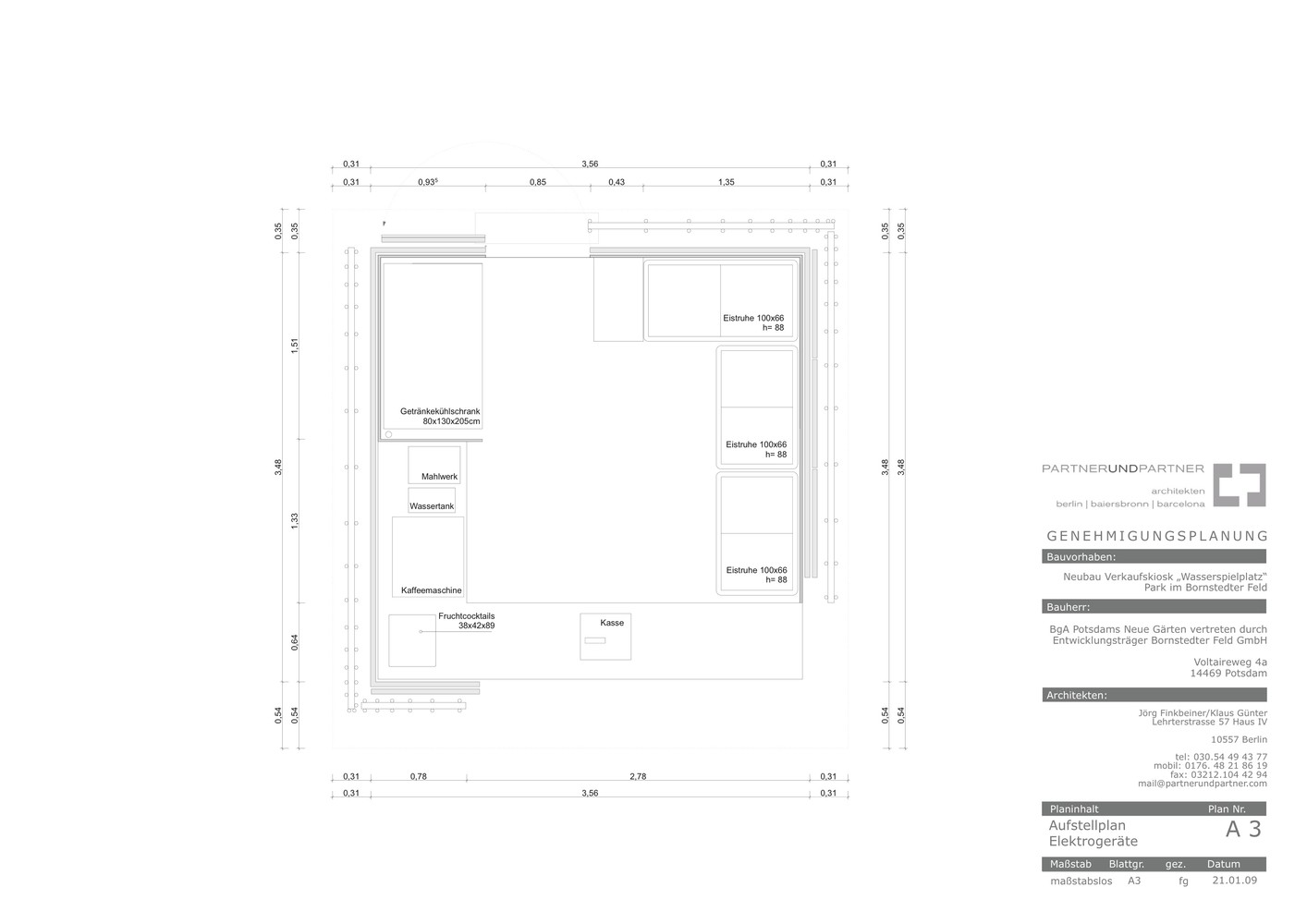Gallery of Simple-Tech-Kiosk / partnerundpartner-architekten