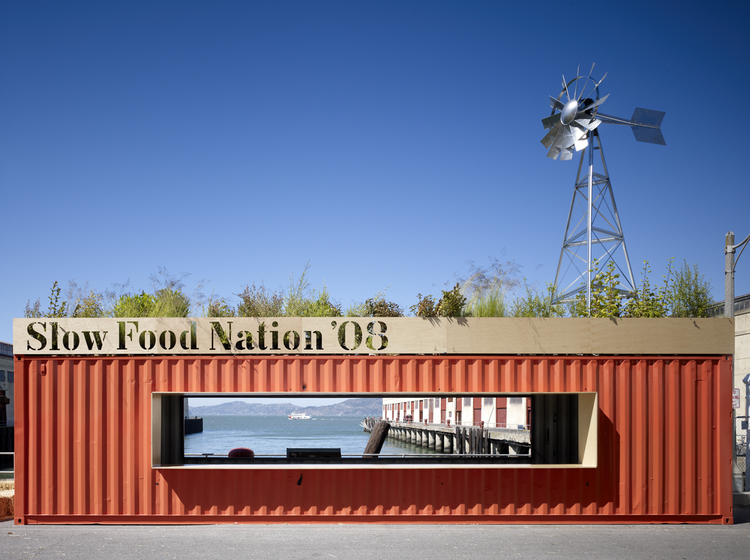 Slow Food Nation Welcome Pavilion / Jensen Architects, © Mark Darley