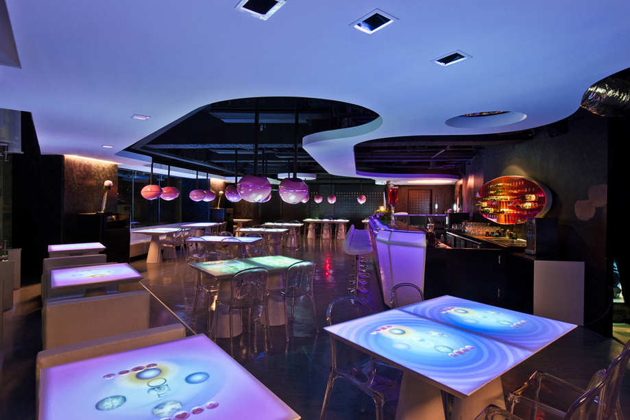 Mojo icuisine interactive restaurant moxie design