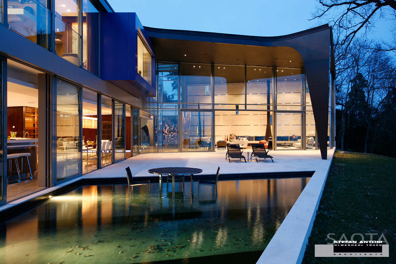Modern Mansion With Perfect Interiors By Saota: Sow Geneva / SAOTA + SRA Kössler & Morel Architects