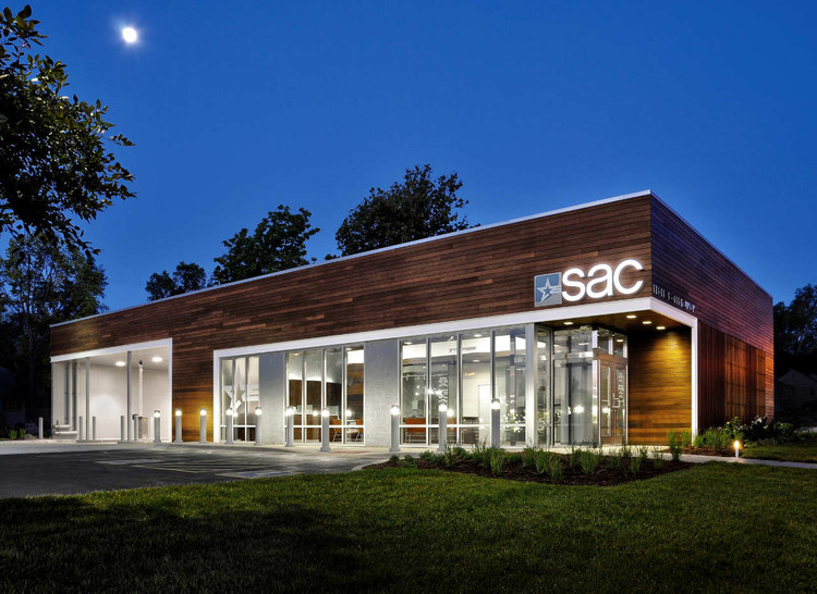 SAC Federal Credit Union / Leo A Daly, © Matthew DeBoer