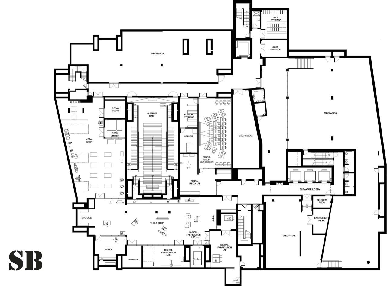 Gallery of Yale Art + Architecture Building / Gwathmey Siegel ...
