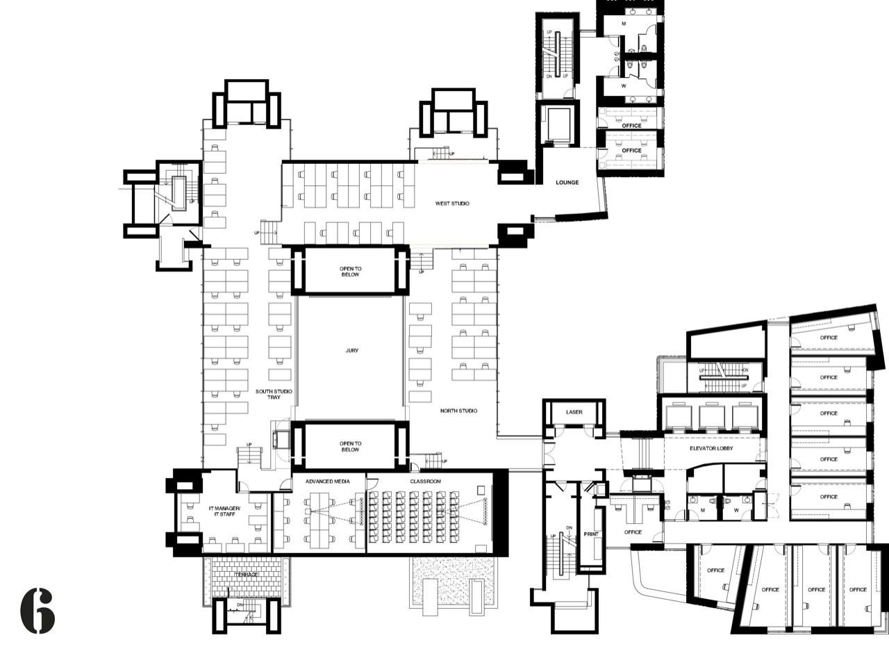 Yale art architecture buildingplan