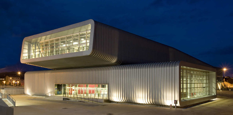 Trade Fair Centre in La Spezia / MMAA, © Roberto Buratta