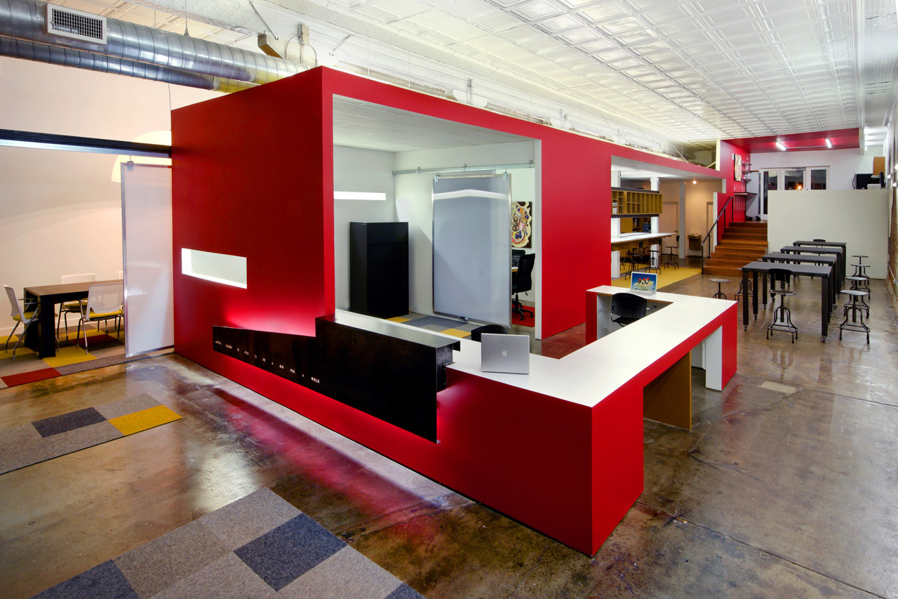 Gallery of andy s frozen custard home office dake for Modern office design and architecture inc