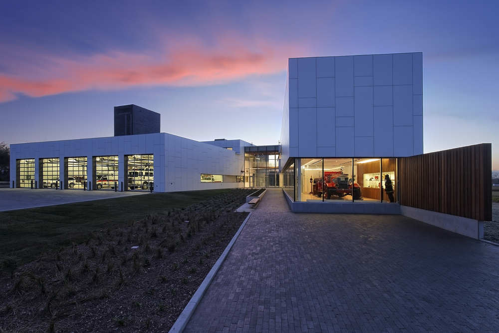 Brandon Firehall No 1 Cibinel Architects Archdaily