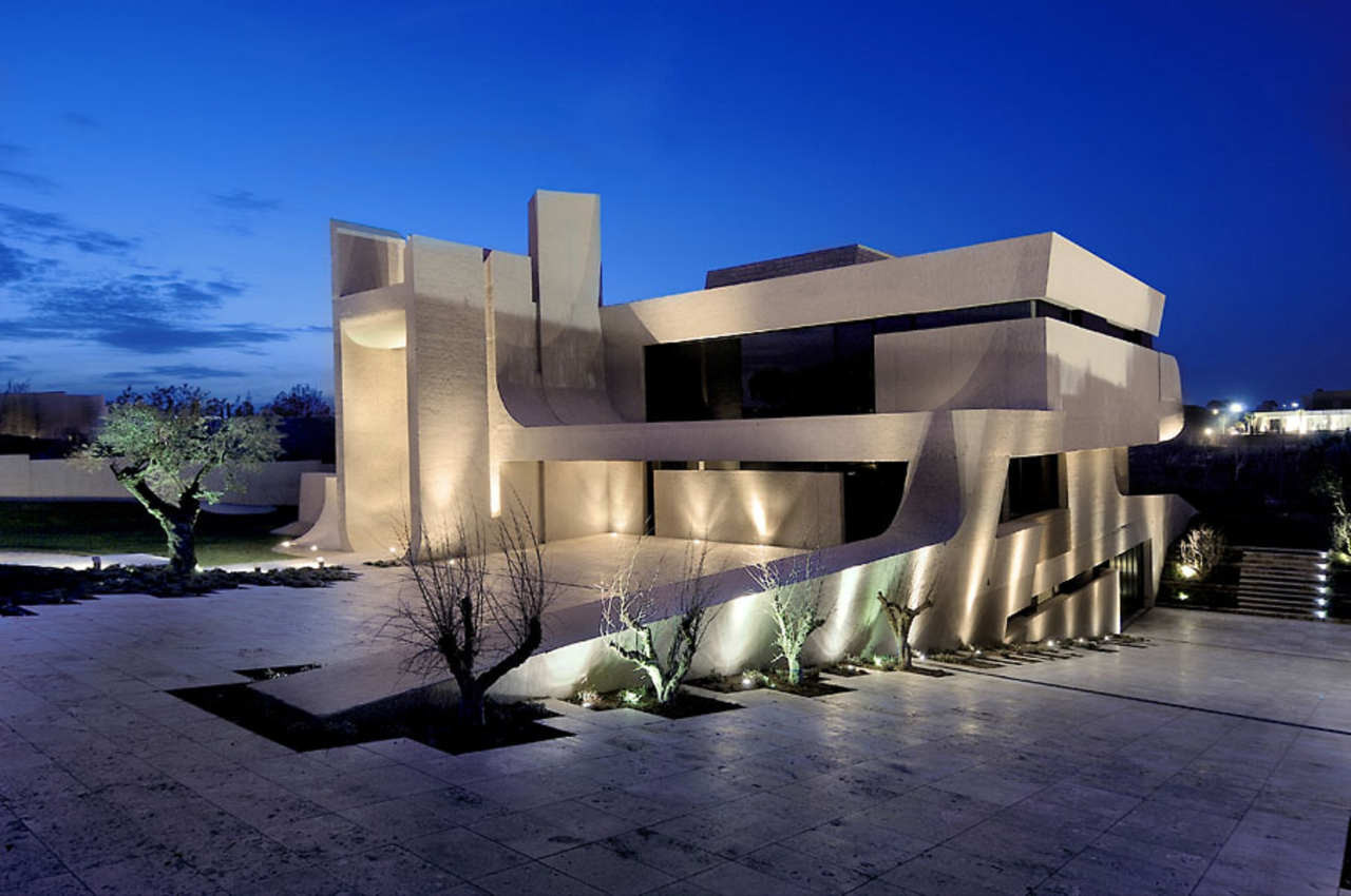 Gallery of three level house in madrid a cero 36 for Casa y jardin madrid