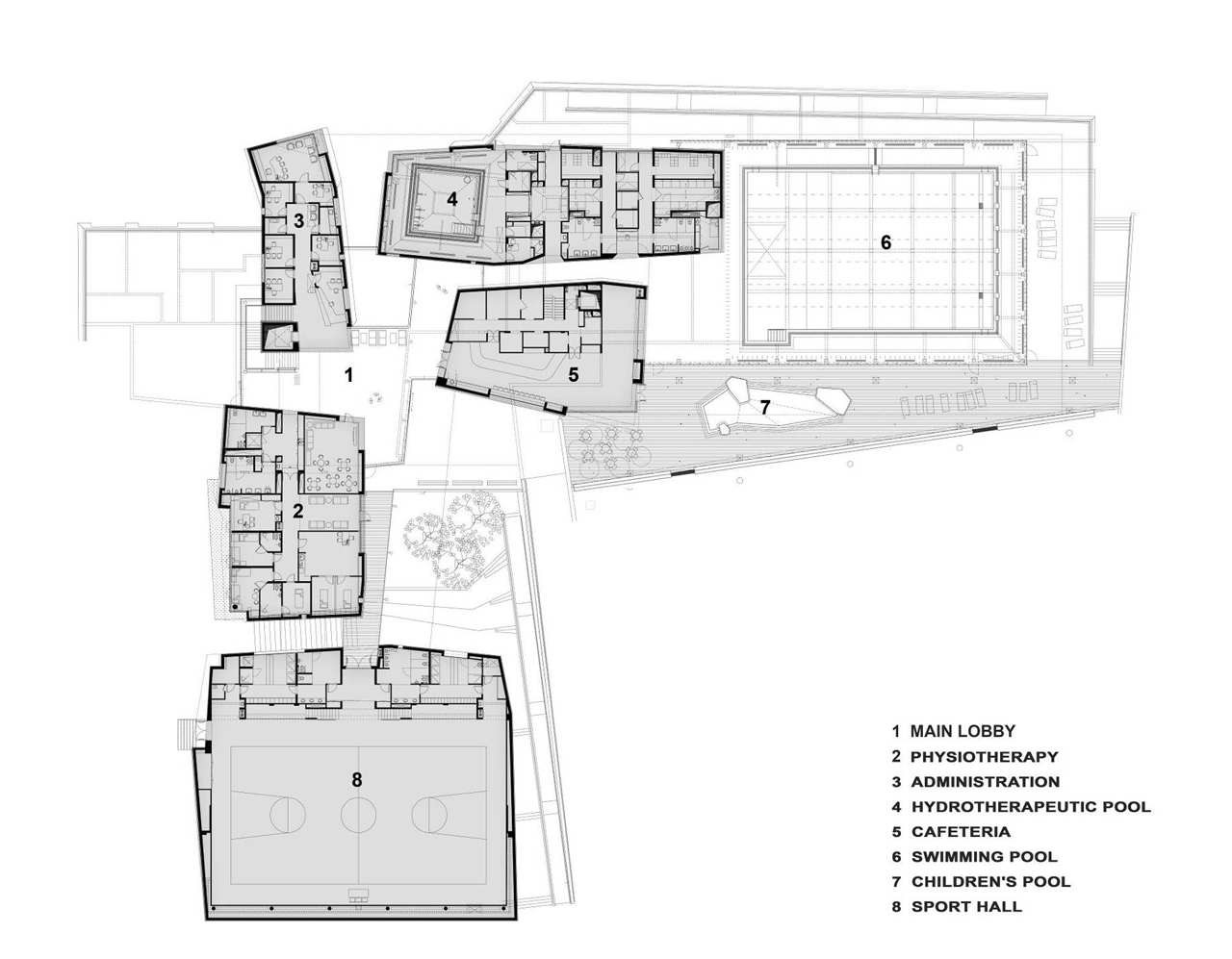 Gallery of beit halochem rehabilitation center kimmel Make house plans
