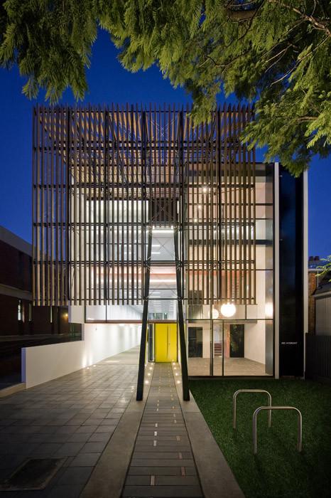195 Melbourne Street / Tridente Architects, © David Sievers