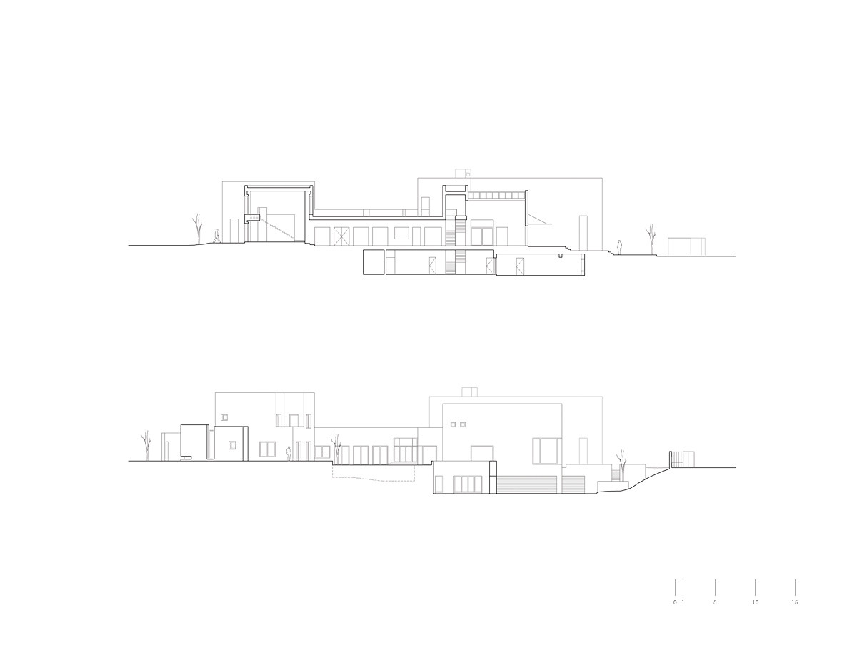 Abu Samra House,Section