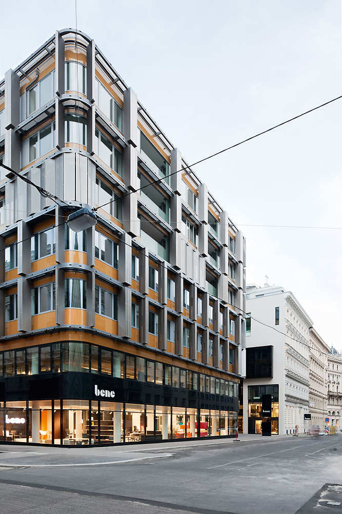 Bene Flagship Store Neutorgasse / Solid Architecture, Courtesy of Solid Architecture