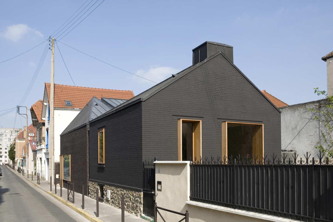 maison leguay moussafir architectes associ s archdaily. Black Bedroom Furniture Sets. Home Design Ideas