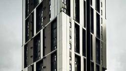 Torre de viviendas sociales de 75 unidades en Plaza Europa / Roldán + Berengué