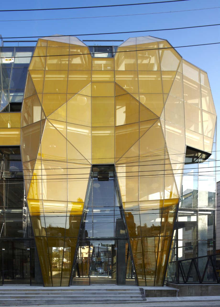 The Yellow Diamond Jun Mitsui amp Associates Architects