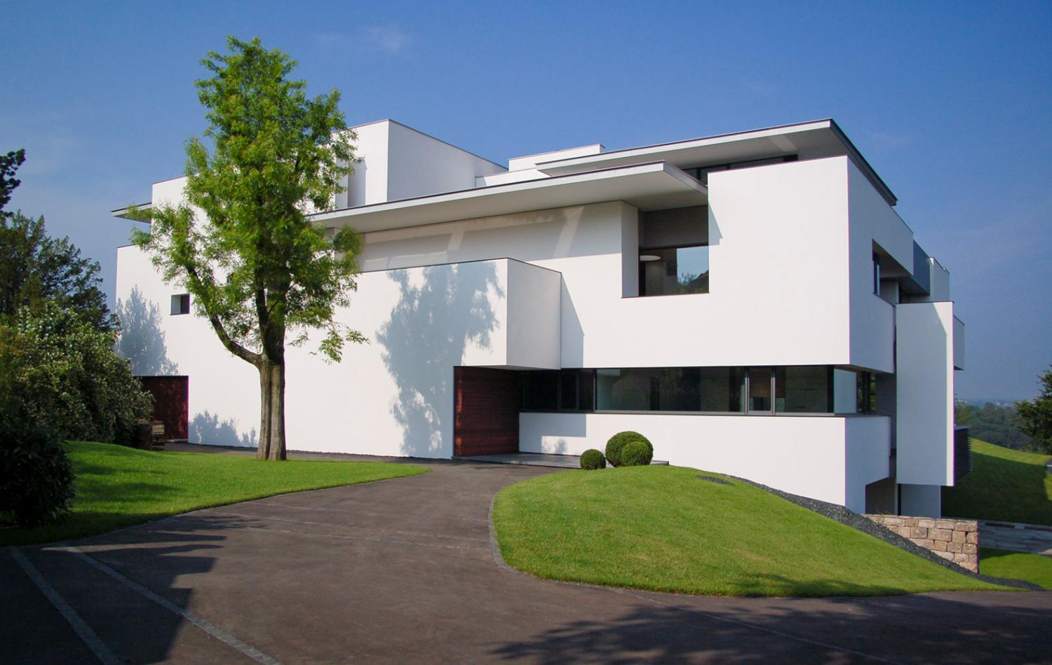 Gallery of oberen berg house alexander brenner 5 for Modern house design bloxburg