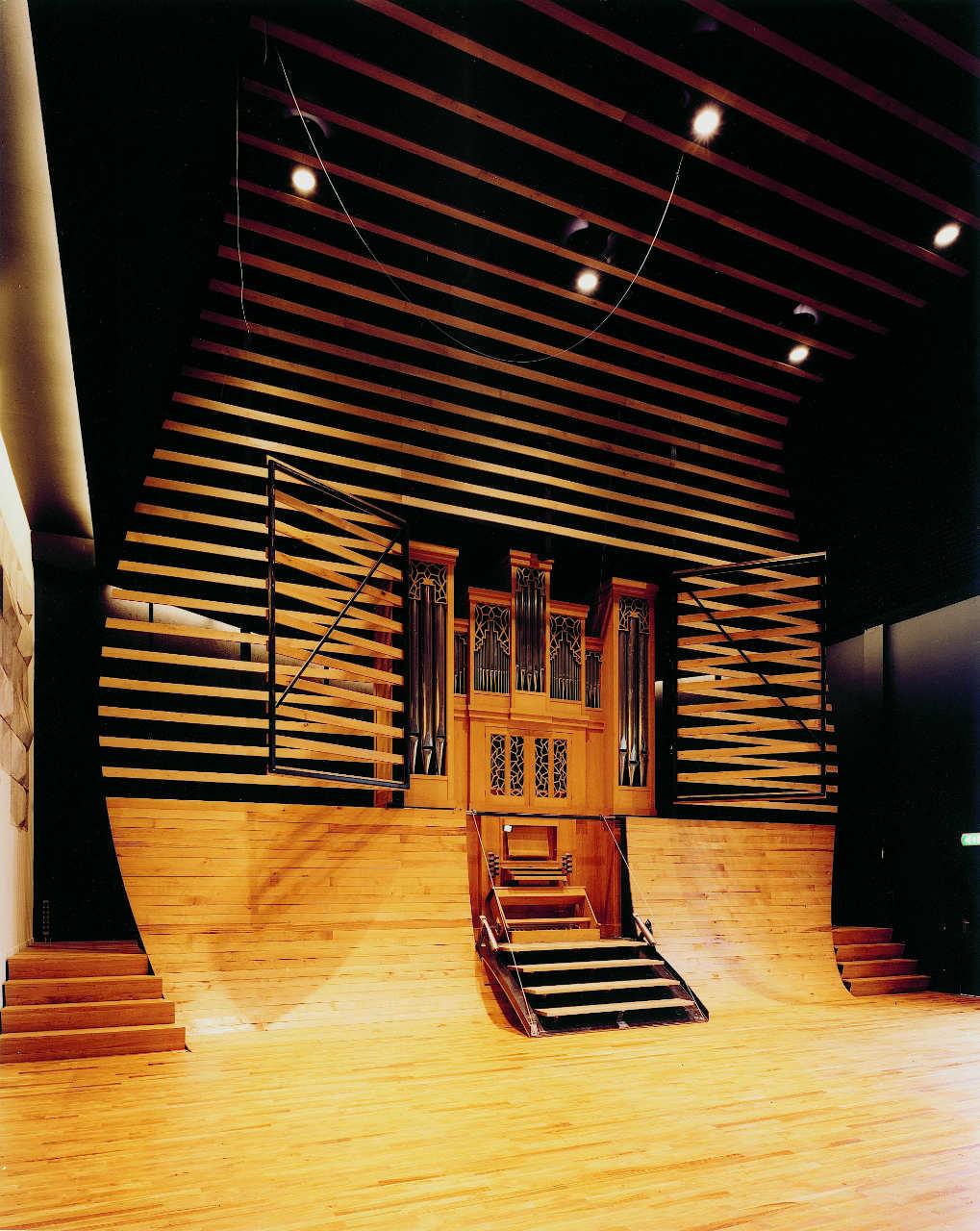 School of Music Auditorium / Onix, Courtesy of  onix