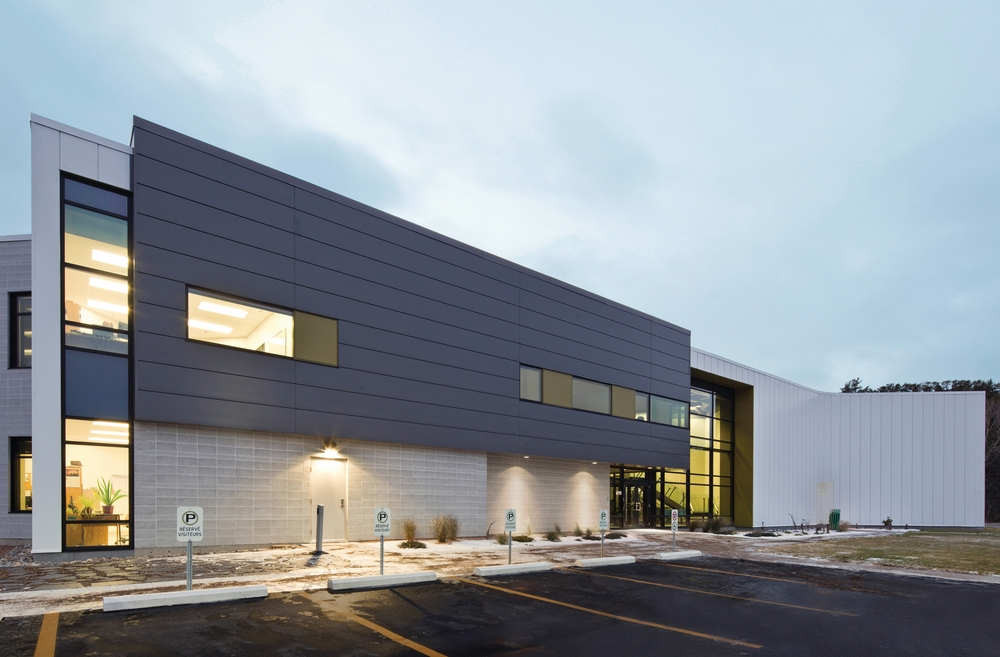 Centre Spécialisé de Technologie Physique du Québec / bisson   associés + Carl Charron Architecte, © Stéphane Groleau