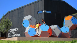 Rommen School and Cultural Center / Østengen & Bergo AS