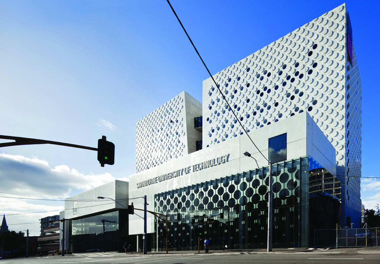 The Swinburne University of Technology / H2o architects, © Trevor Mein