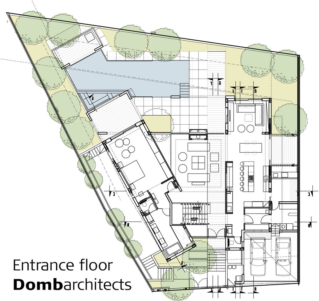 Gallery Of Dg House Domb Architects 14