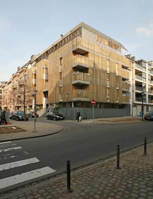 Social Housing in Brussels / Nicolas Vanden Eeckhoudt & Olivier Noterman, © Michel Vanden Eeckhoudt