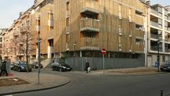 Social Housing in Brussels / Nicolas Vanden Eeckhoudt & Olivier Noterman