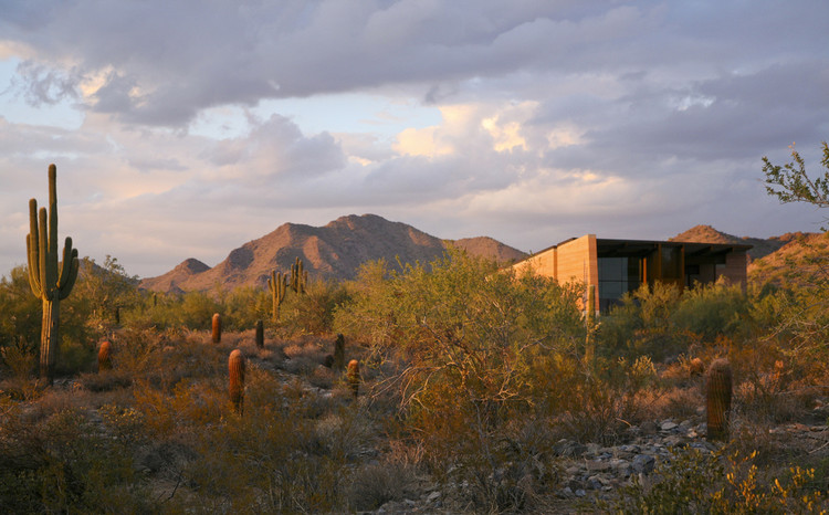 The Gateway to the McDowell Sonoran Preserve / Weddle Gilmore Black Rock Studio, © Chris Brown