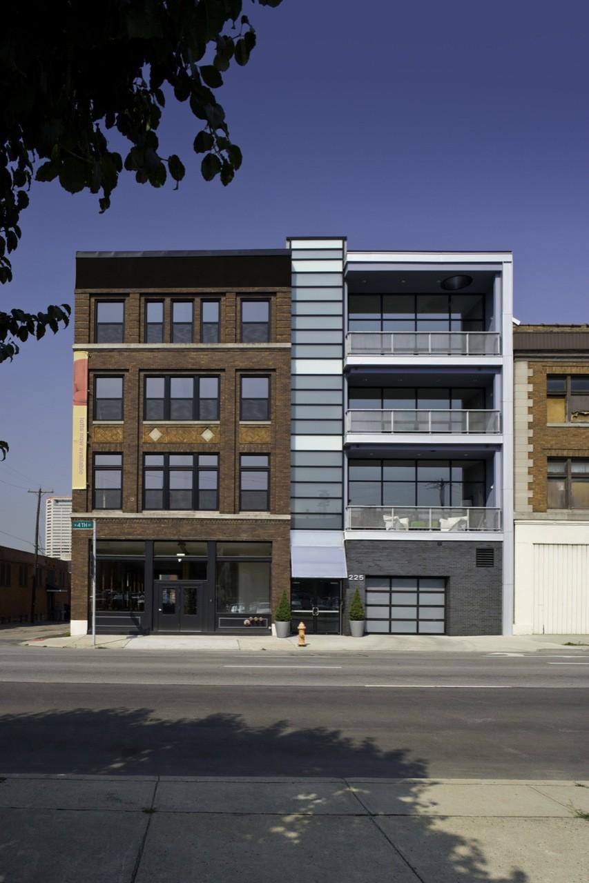 225 North Fourth Lofts / Jonathan Barnes Architecture and Design, © Brad Feinknopf