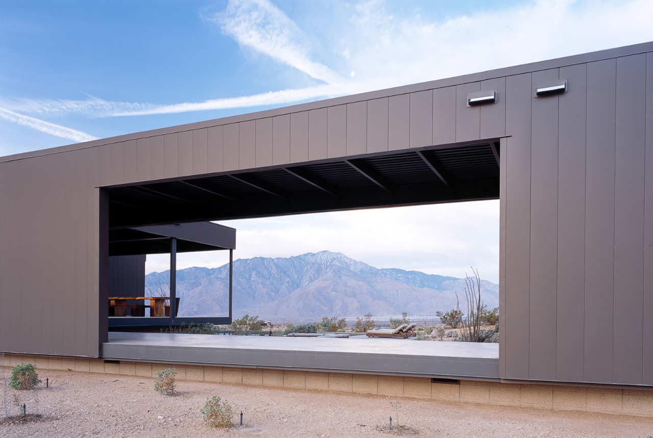 Gallery of desert house marmol radziner 4 for House designer com