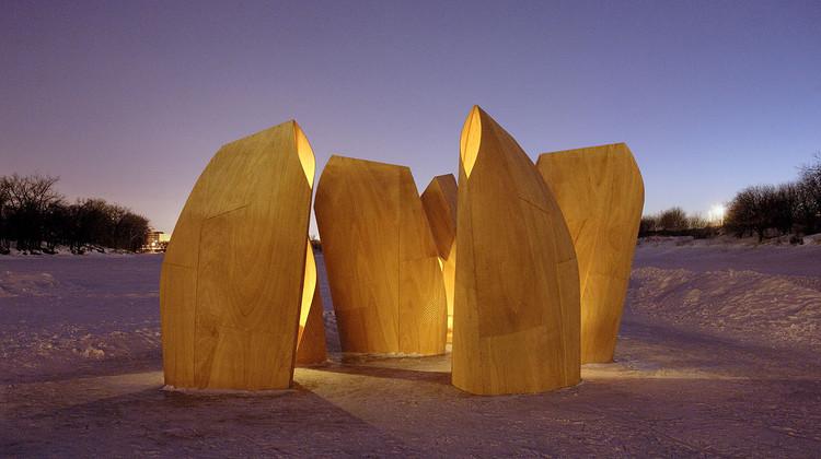Winnipeg Skating Shelters / Patkau Architects, © James Dow