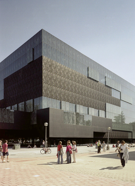 Utrecht library wiel arets architects archdaily for Architecture firms in netherlands
