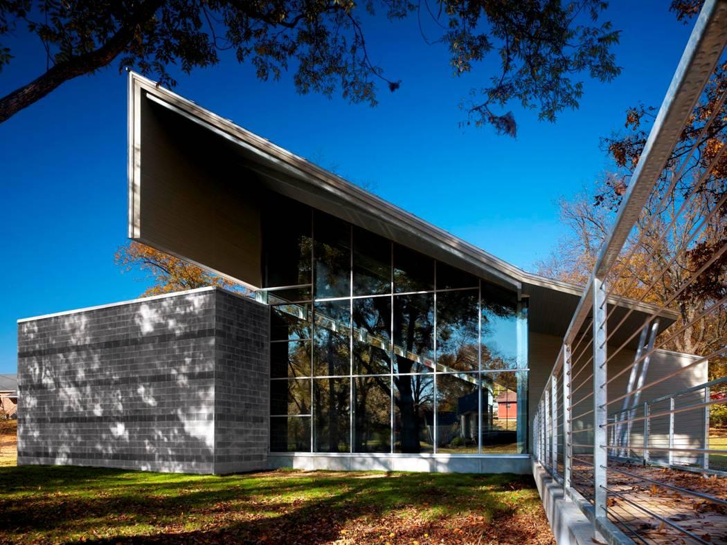 Alex Haley Interpretive Center / Askew Nixon Ferguson, © Jeffrey Jacobs Photography