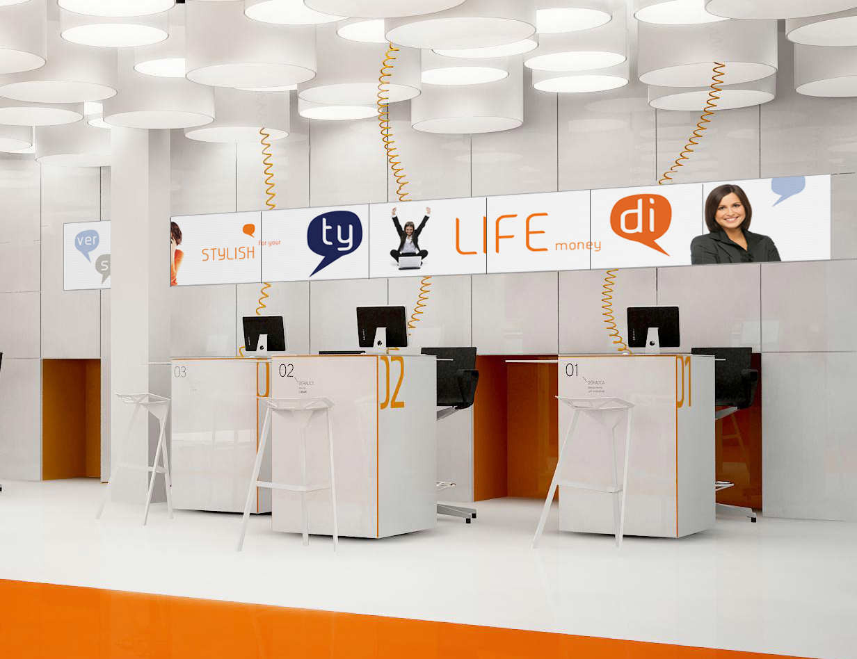 Gallery Of New Interior Standard For ING Bank Outlets