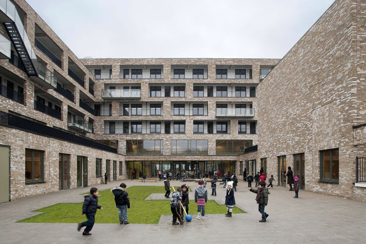 Osdorp Multi-Functional School / Mecanoo, Courtesy of  mecanoo