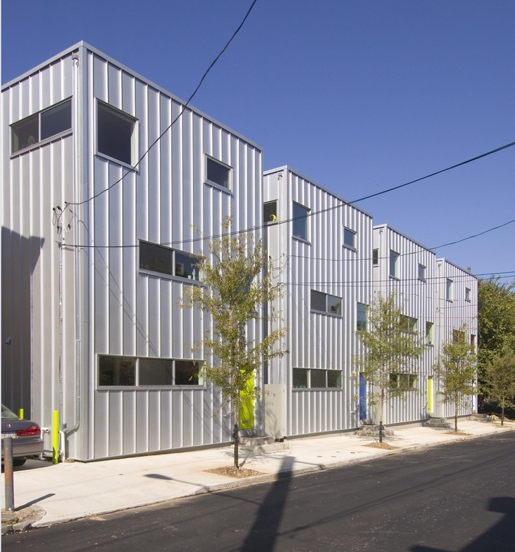 American Street Houses I / Materiality Office, © Greg Benson Photography