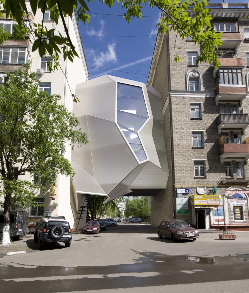Parasite Office / za bor architects, © Peter Zaytsev