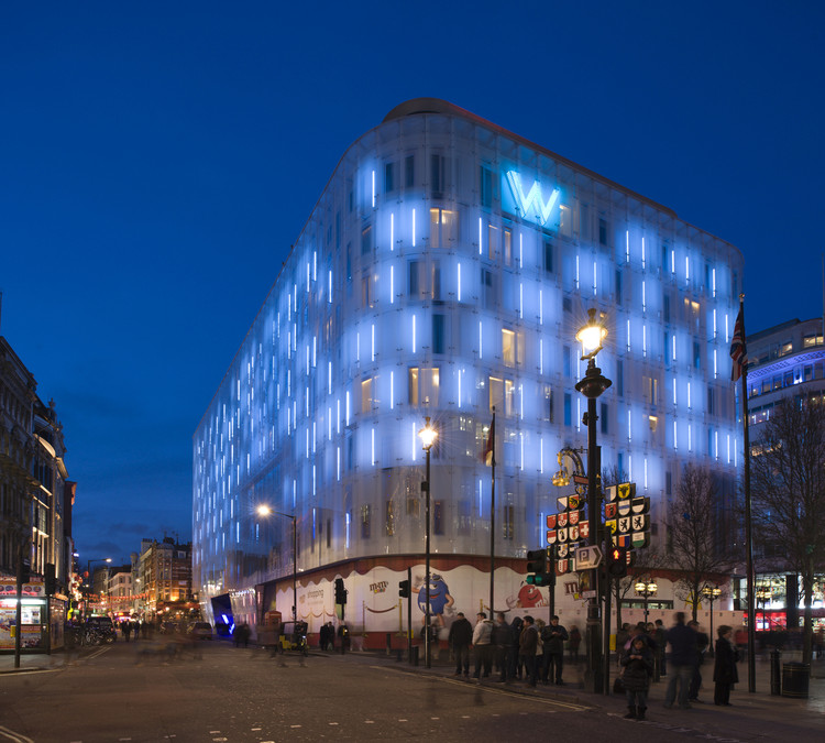 W London Leicester Square / Jestico + Whiles, Courtesy of  jestico + whiles