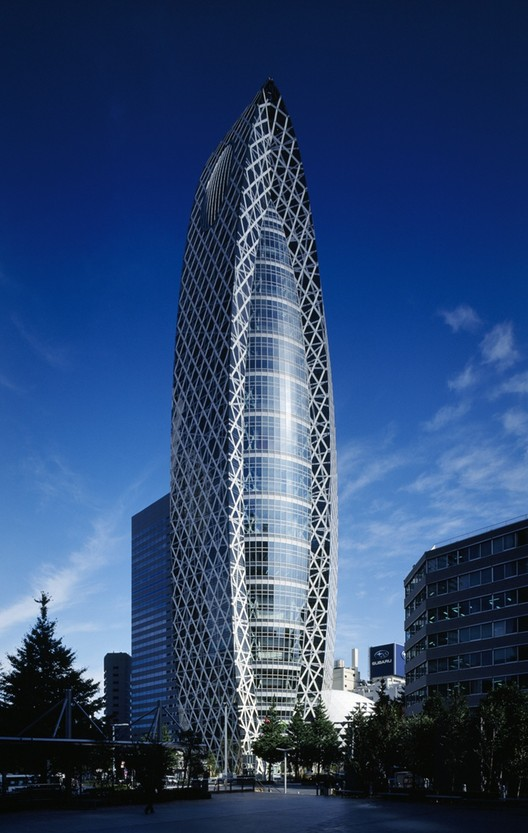 Mode Gakuen Cocoon Tower Tange Associates Archdaily