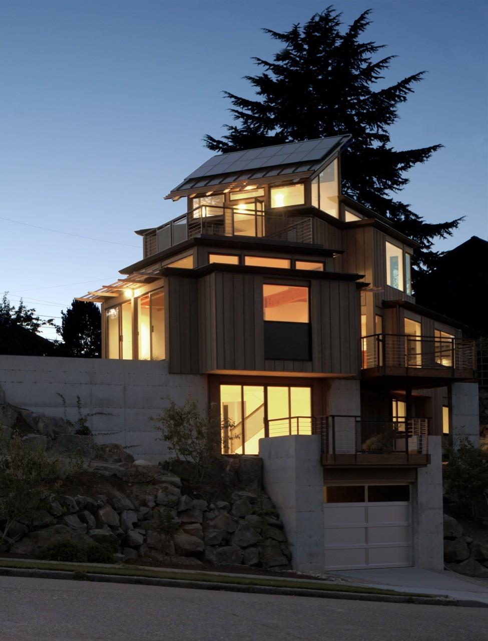 NEXTHouse / David Vandervort Architects, © Michael Jensen Photography