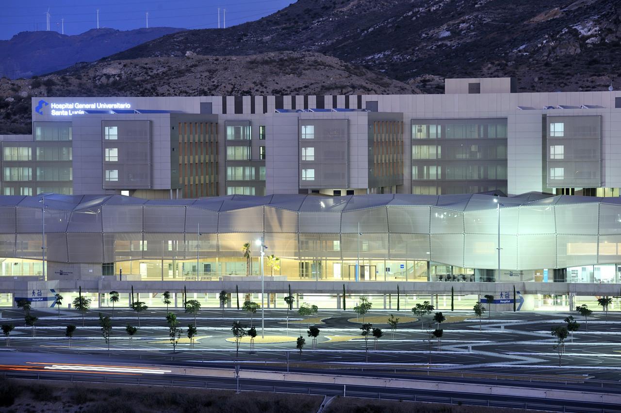 New santa luc a university general hospital casa s lo arquitectos archdaily - Arquitectos murcia ...