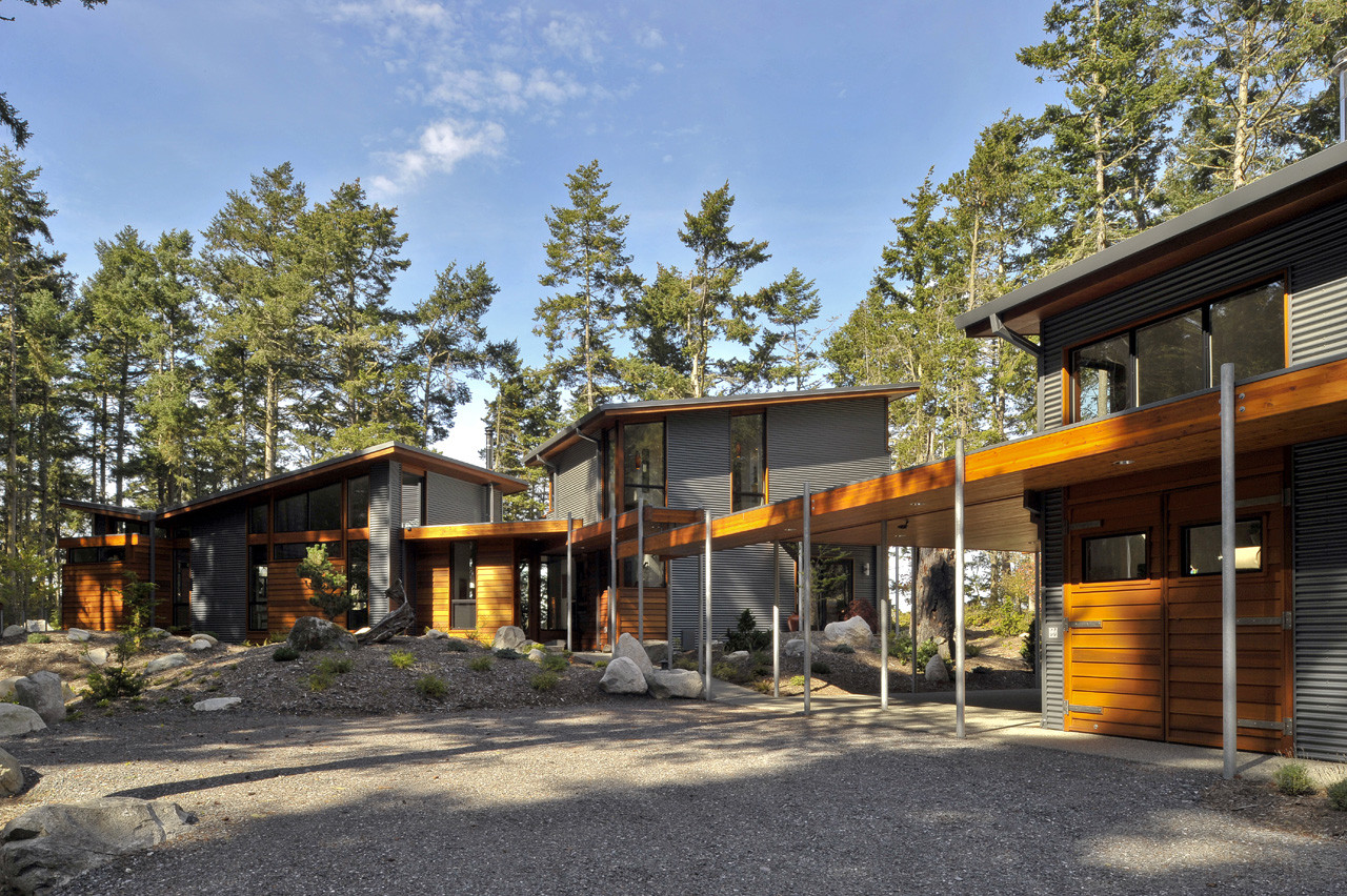Lopez Island Residence / David Vandervort Architects, © Michael Shopenn Photography