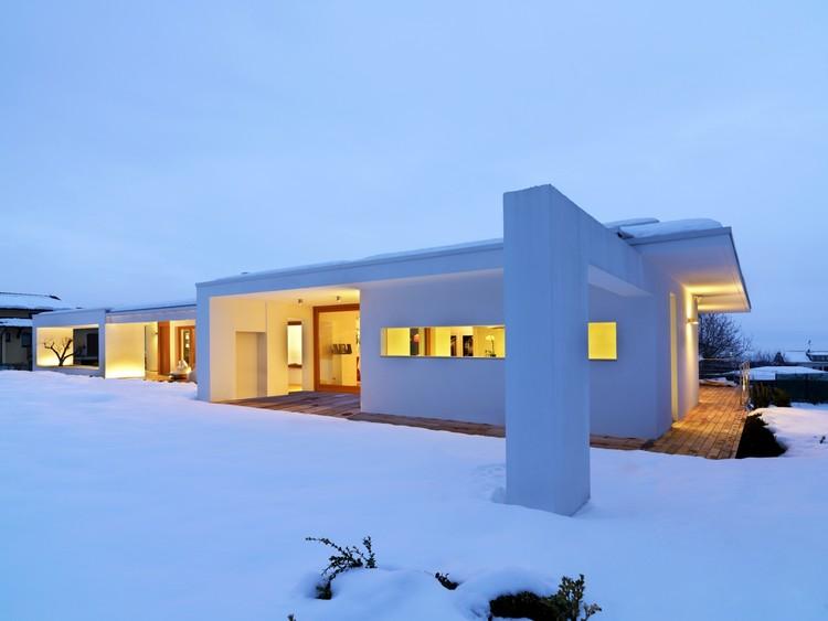 Horizontal Space House / Damilano Studio Architects, © Andrea Martiradonna Nice Design